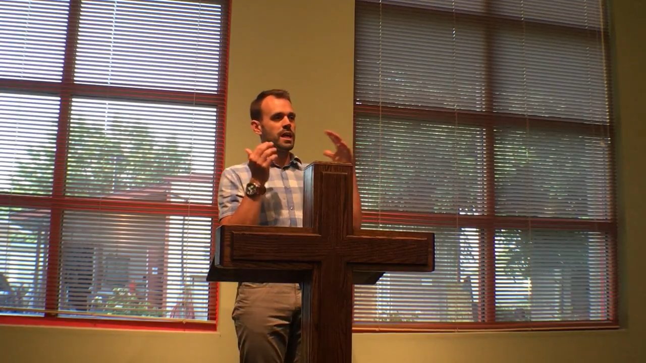 "Pastor Justin Schroeder ""Whose Slave Are You?"""