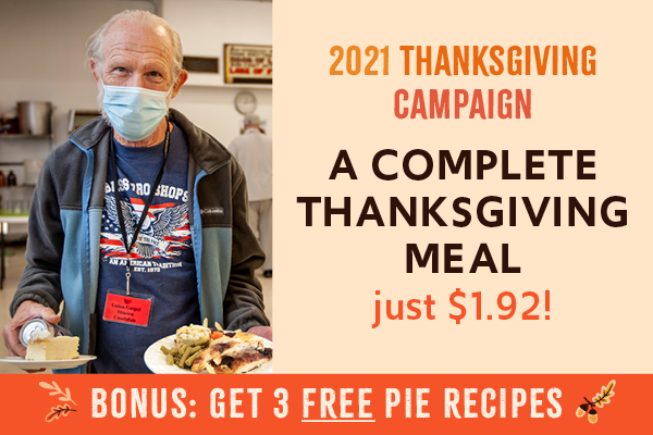 A complete Thanksgiving meal is just $1.92